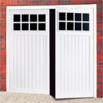 Bedford Steel Side Hinged Garage Door