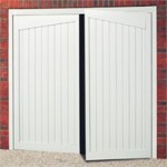 Gatcombe Steel Side Hinged Garage Door