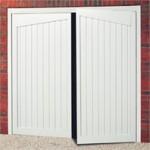Gatcombe Steel Side Hinged Garage Door