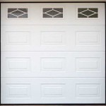 Georgian Panelled Glazed Garage Doors
