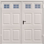 Steel Side Hinged Garage Doors by Garagdor