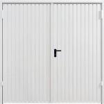 Steel Side Hinged Garage Doors by Garagdor