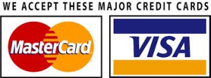 City Garage Doors, Derbyshire can accept credit and debit cards including Mastercard and Visa