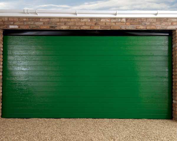 Green Garage Doors : Sectional garage doors city ltd