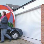 Insulated Roller Garage Doors fitted or repaired by City Garage Doors Dronfield Derbyshire UK