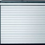 White Horizontal Sectional Garage Door