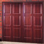 Brompton Steel Rosewood Finished Up and Over Garage Doors