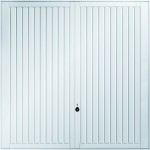 Caxton White Garage Doors from City Garage Doors