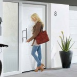 Entrance doors to match your garage door from City Garage Doors