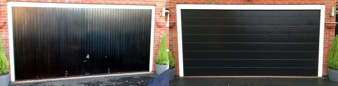 City Garage Doors - Before and After Example